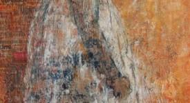 Robe blanche 1. 80 x 60.