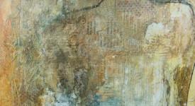 En-core. Karole Aubourg. Techniques mixtes sur bois. Dim 61 x 50.
