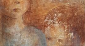 Ensemble, c'est tout 2 Karole AUBOURG Techniques mixtes sur bois Dim 92 x 73 cm