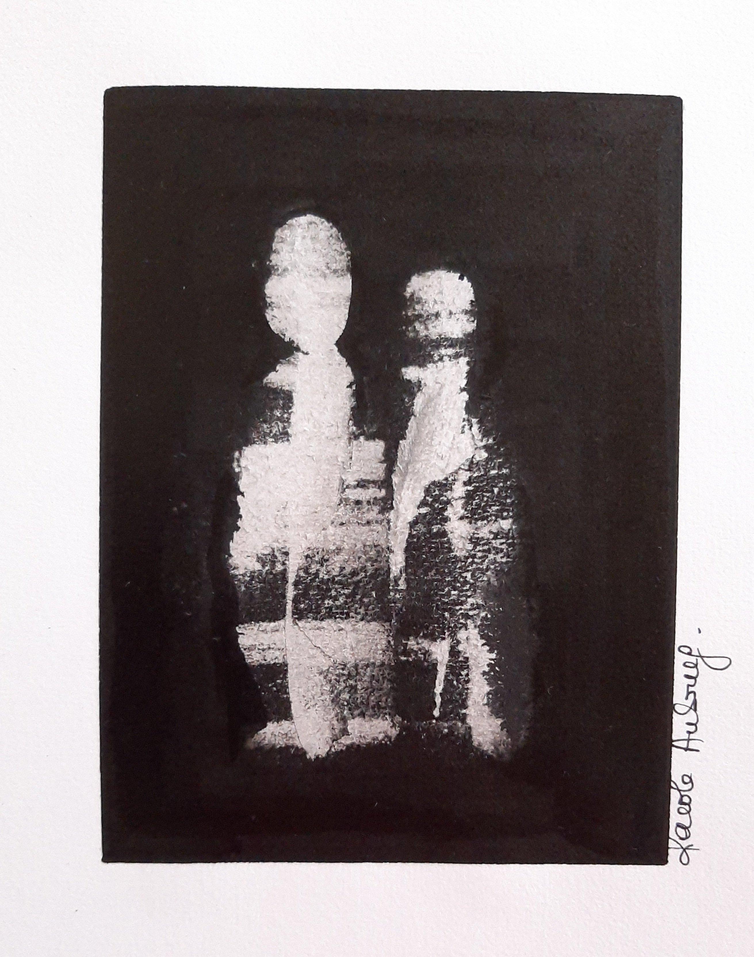 Encre de Chine numero 10 Karole Aubourg Dim 30 x 21 cm