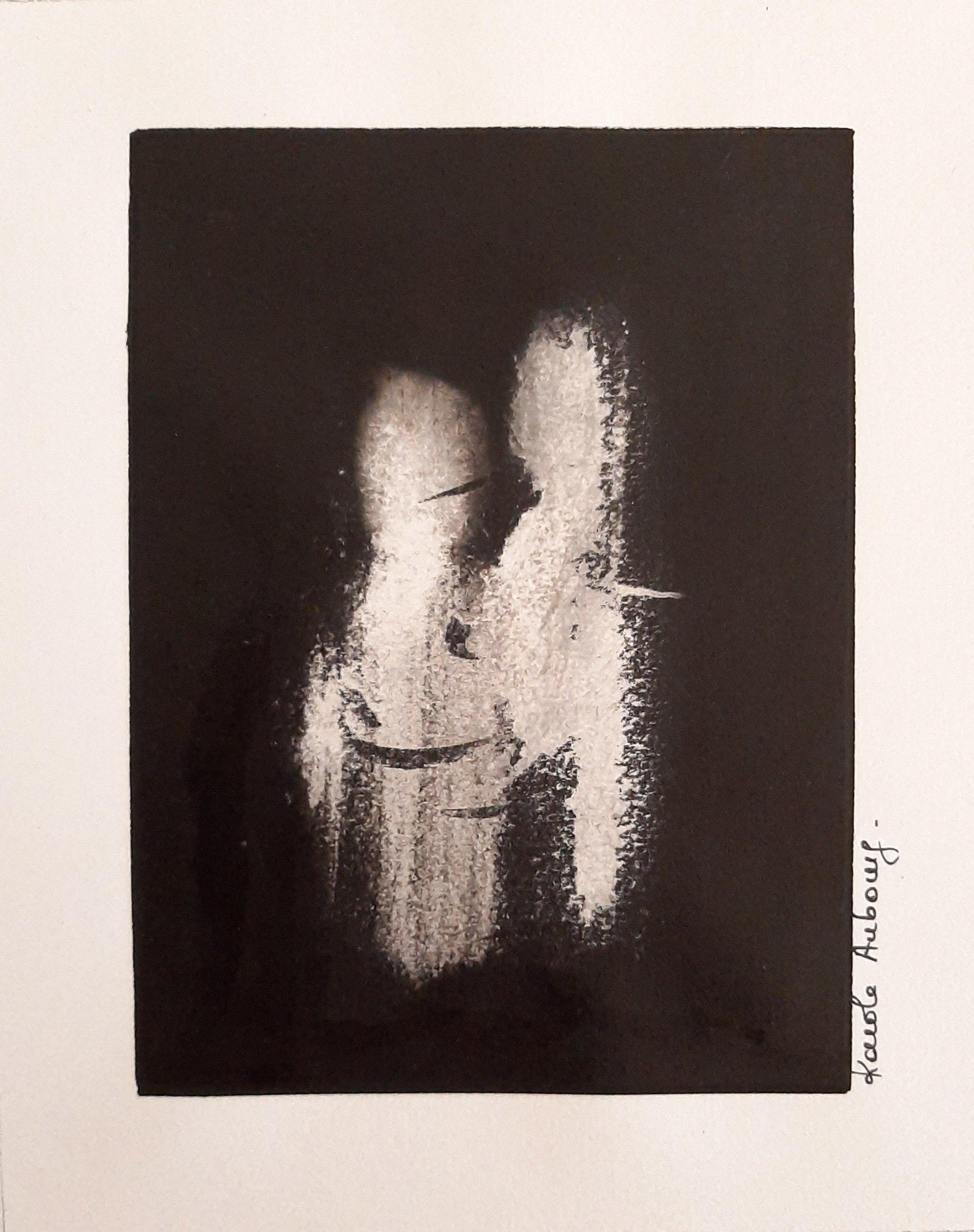Encre de Chine sur papier Numero 5 Karole Aubourg Dim 30 x 21 cm