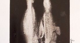 Encre de Chine sur papier numero 13 Karole Aubourg Dim 30 x 21 cm