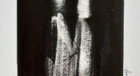 Encre de Chine sur papier numero 14 Karole Aubourg Dim 30 x 21 cm