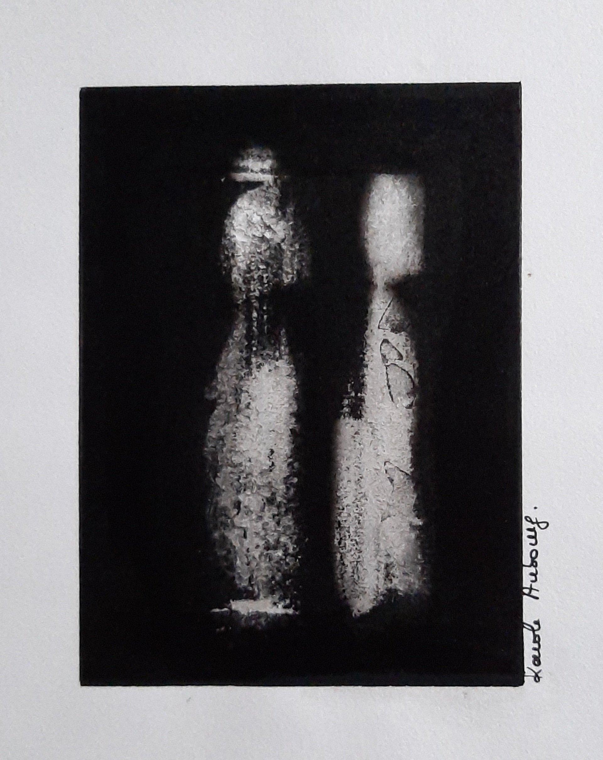 Encre de Chine sur papier numero 8 Karole Aubourg Dim 30 x 21 cm